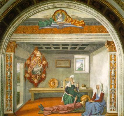 Domenico Girlandajo. Death
