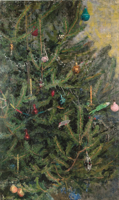 Grigory Mikhailovich Shegal (1889-1956). Christmas tree.