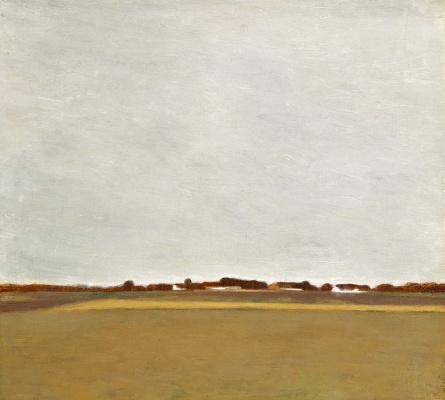 Vilhelm Hammershøi. Summer landscape, Frederiksdale