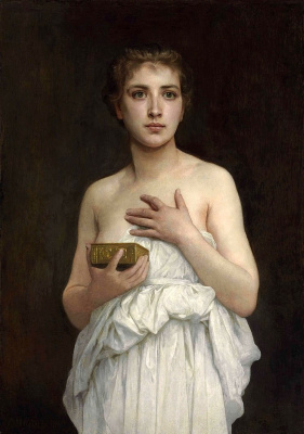William-Adolphe Bouguereau. Pandora