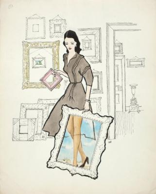 Dorothea Tunning. Untitled (Wonderful frame)