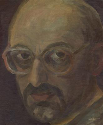 Andrei Ivanovich Borisov. Self-portrait
