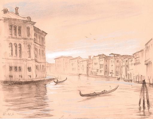 Андрей Ноаров. Венеция .Большой канал.