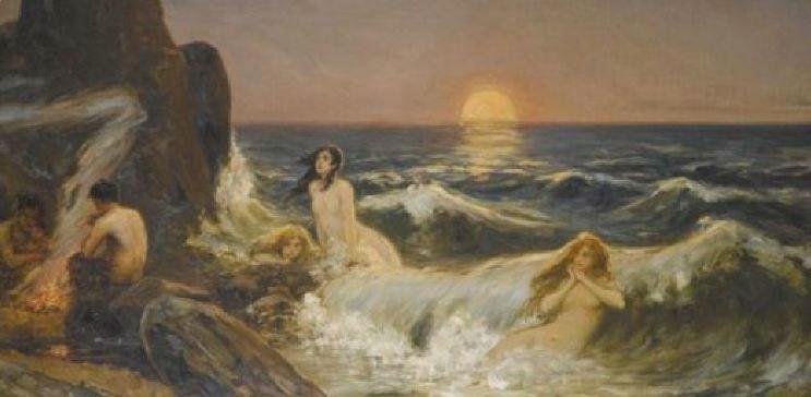 Wilhelm Kotarbinsky. Moonrise