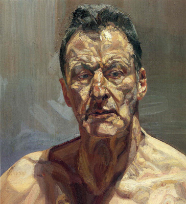 Люсьен Фрейд. Отражение (автопортрет)