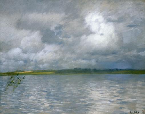 Isaac Levitan. Gloomy day