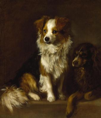 Thomas Gainsborough. Tristram and Fox