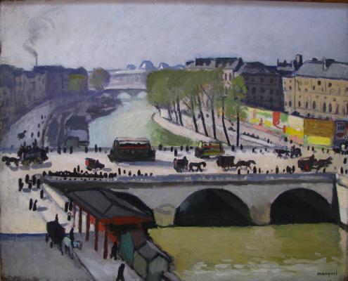 Albert Marquet. St. Michel Bridge