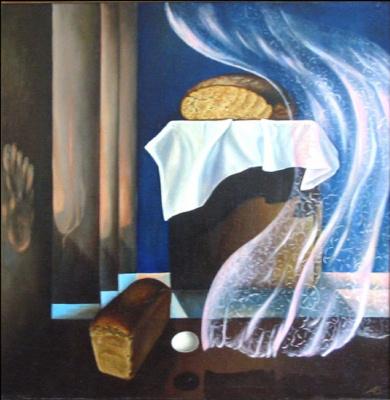 Vladimir Vasilyevich Abaimov. Evening Bread