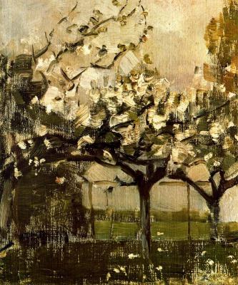 Piet Mondrian. Trees