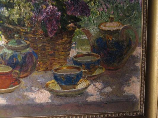 Petr Kuzmich Stolyarenko. Morning tea
