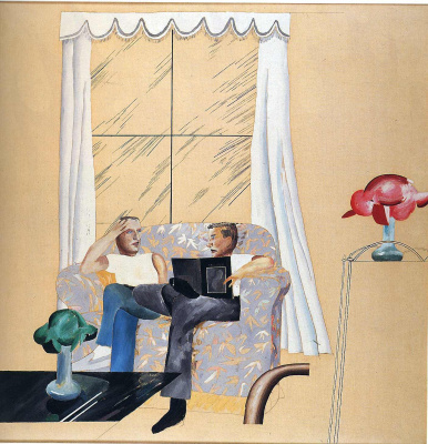 David Hockney. Window
