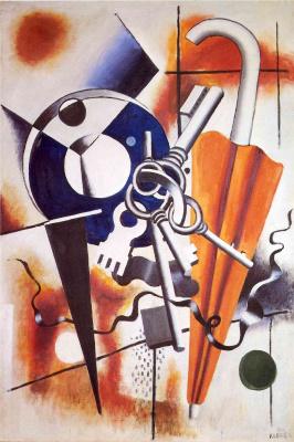 Fernand Leger. Still life with umbrella