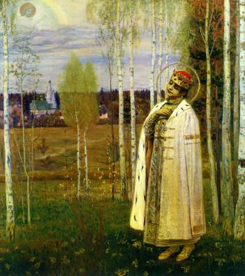 Михаил Васильевич Нестеров. Дмитрий-царевич убиенный