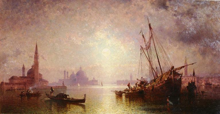 Franz Richard Unterberger. Views of St. George