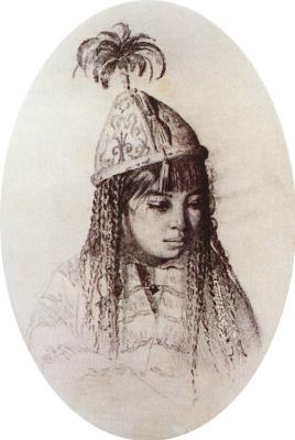 Vasily Vasilyevich Vereshchagin. Kyrgyz girl
