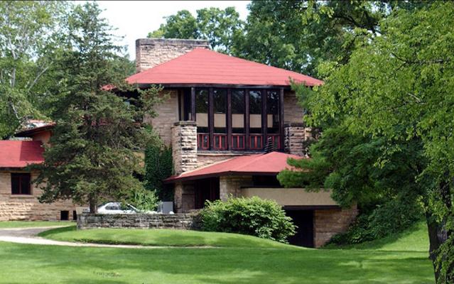 Frank Lloyd Wright. Taliesin Residence in Wisconsin