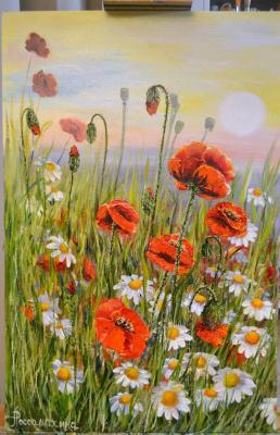 Lyudmila Alexandrovna Rossamakhina. Wildflowers