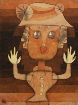 "Paul Klee. ""Doll"" (Portrait)"