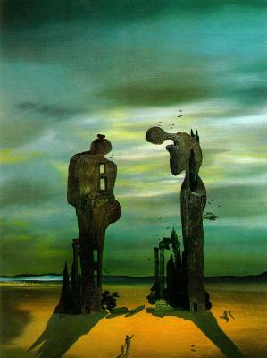 "Salvador Dali. Archaeological echo ""Angelus"" Mille"