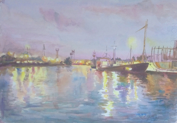 Fedor Dmitrievich Usachev. Kaliningrad