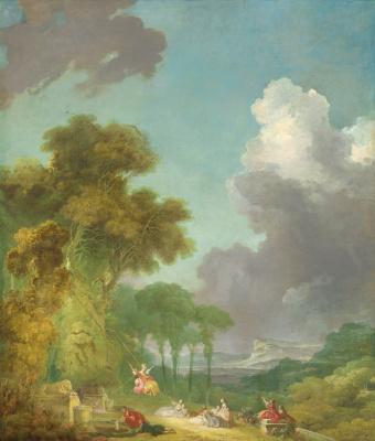 Jean Honore Fragonard. Swing