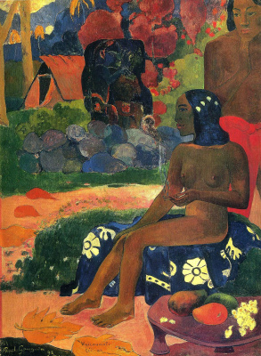 Paul Gauguin. Her name was Vairaumati