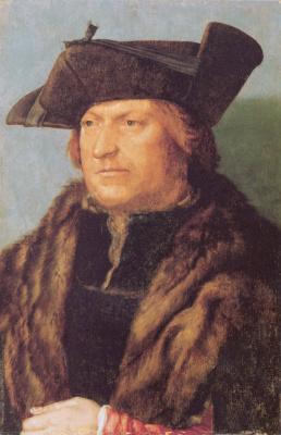 Albrecht Durer. Portrait of Rodrigo de Almada