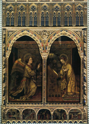 Jacopo Bellini. Annunciation