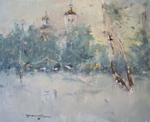 """Ivan Stepanovich Danilov. """"Yeniseisk"""""""