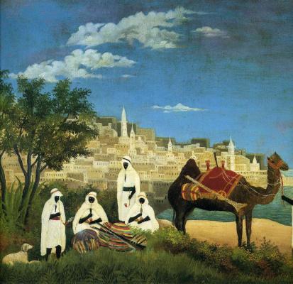 Henri Rousseau. The Landscape Of Algeria