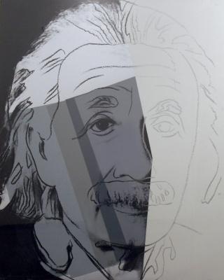 Andy Warhol. Albert Einstein