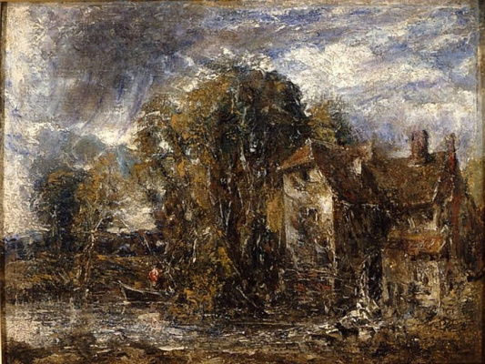John Constable. Water Mill