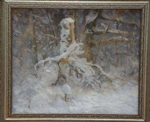 Вера Маруева. Зимний этюд