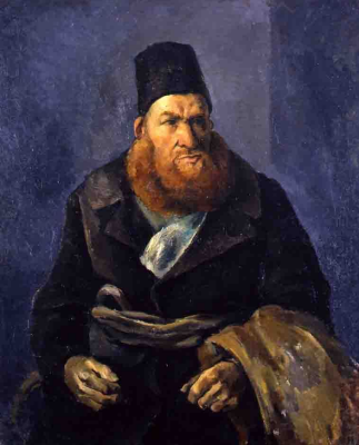 Amshey Markovic Nuremberg. A man with a red beard.