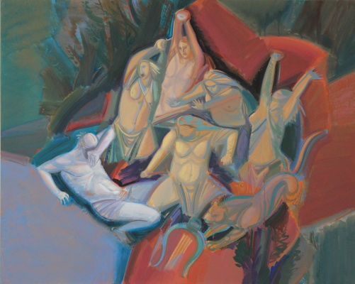 Nurlan Tayirov. The death of Orpheus III