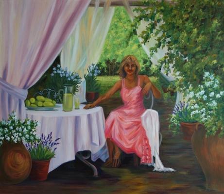 Larissa Lukaneva. The freshness of the morning