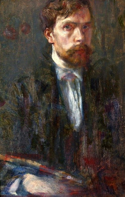 Станислав Выспяньский. Автопортрет