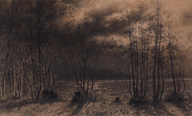 Alexey The Kondratyevich Savrasov. Autumn night