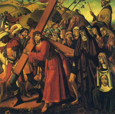 Andre Derain. The road to Calvary