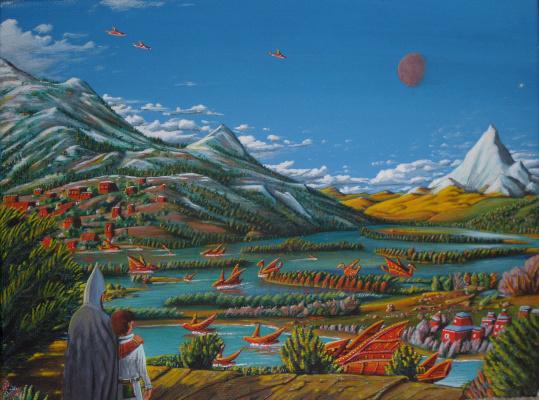Ilya Gennadievich Borisov. Gardens of the Red Civilization