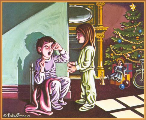 Лесли Кабарга. Рождественская ночь