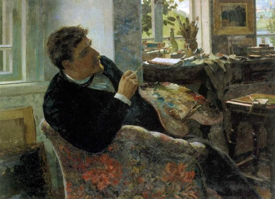 Иван Федорович Селезнев. Портрет художника Ф.И. Данилова
