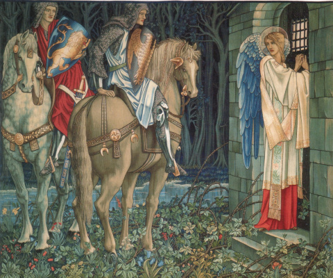 "Уильям Моррис. Series ""The Quest for the Holy Grail"". The failure of Sir Gawaine (Together with Edward Burne-Jones)"