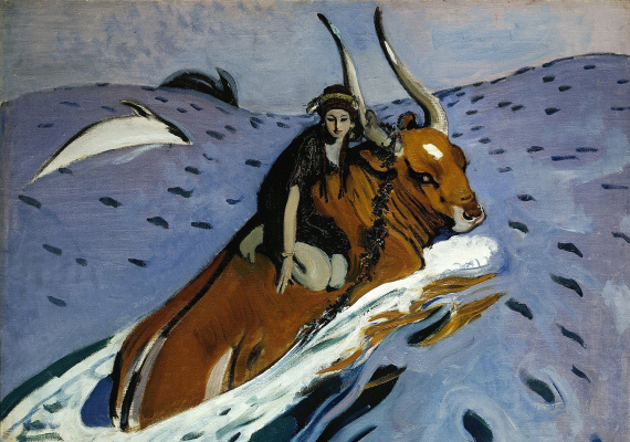 Valentin Aleksandrovich Serov. The Rape Of Europa