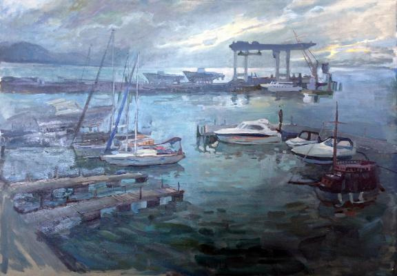 Alexander Tonkoshkurov. Port