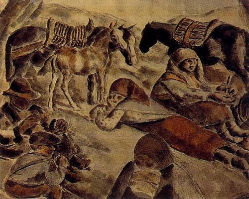 Arturo Souto. Children and horses