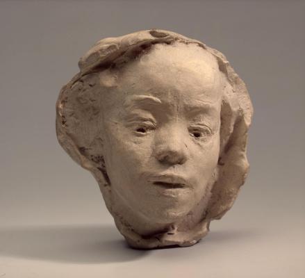Огюст Роден. Портрет японской актрисы Ханако (маска)