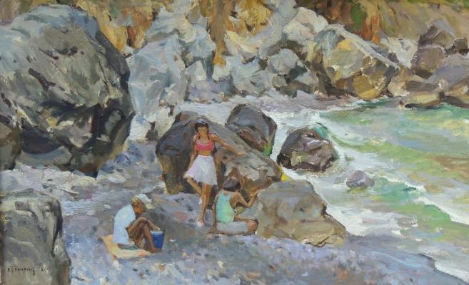 Victor Grigorievich Puzyrkov. On the shore