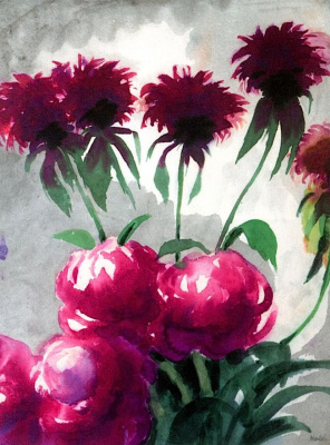Emil Nolde. Flowers